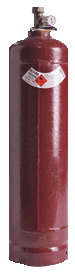 Acetylene cylinder sizes include G and E size gas bottle