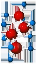Butane molecule C4H10