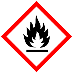Flammable gases: category 1