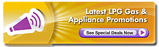 Latest LPG Gas & Appliance Promotions