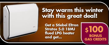 Stiebel Eltron 5 LPG Bundle Sale