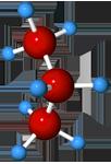 Propane molecule