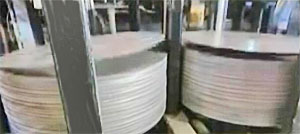 Steel disc blanks for forming the cylinder body